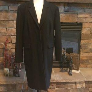 NWT Liz Claiborne's wool blend coat. Size XL